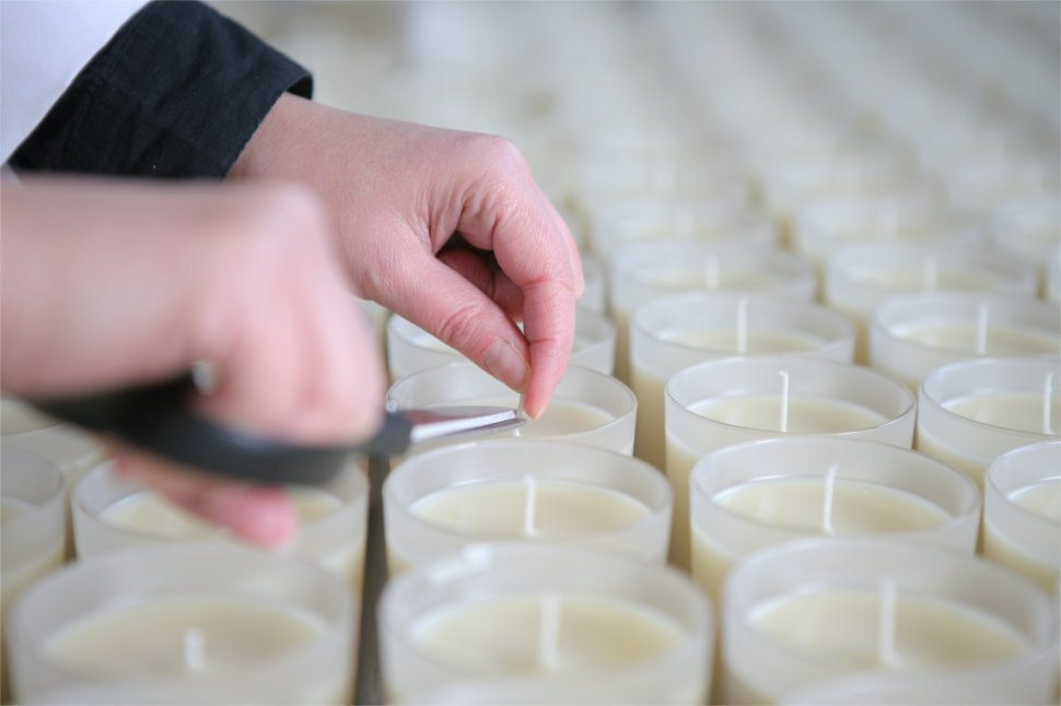 premium quality scented candles