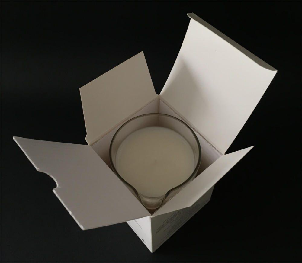 customizable bath oil candle box 60gr - ref.660